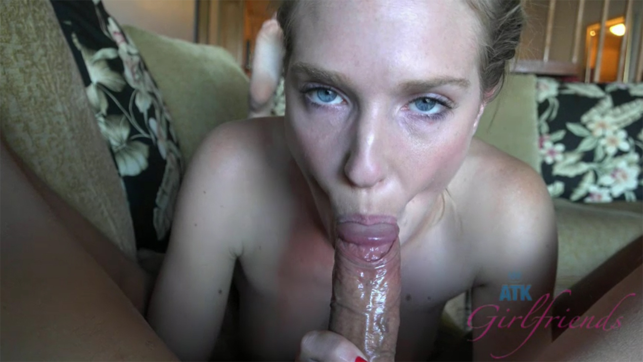 Ashley's last day, and she wants a creampie before she leaves.